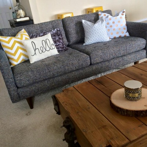 Shop The Look Eliot Loveseat   Photo By Brandi B.