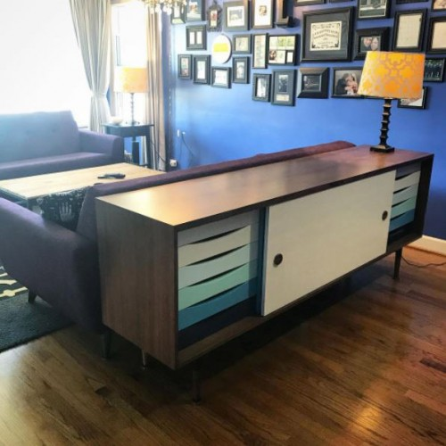 Unson Media Console - Photo by Jennifer Leban