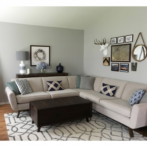 Hyland Corner Sectional - Photo by Courtney Weber