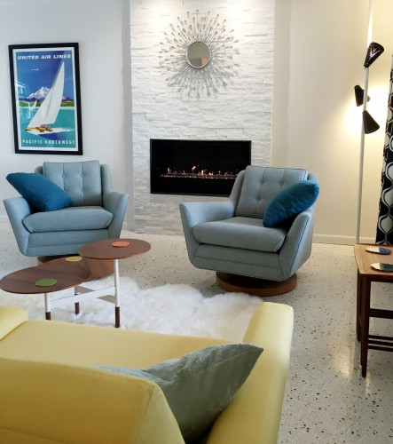 Shop The Look Eastwood Swivel Chair   Photo By James R.