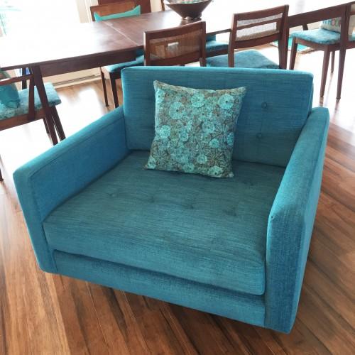 Finest Eliot Swivel Rocking Swivel Chair | Joybird DL33