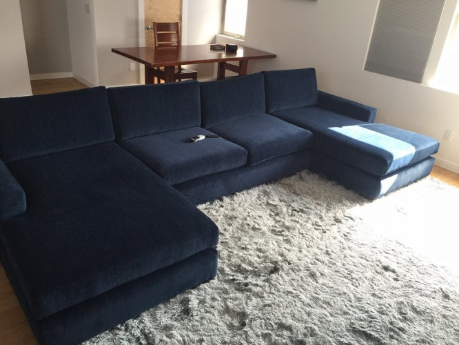 Anton U-Chaise Sectional - Photo by Bryan J.