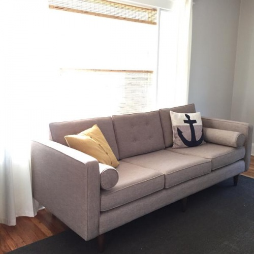 Shop The Look Braxton Sofa   Photo By Leslie M.