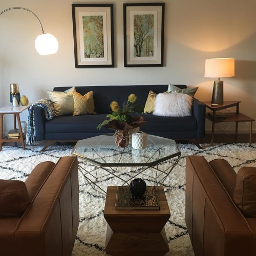 Roddy Leather Sofa - Photo by Morekka R.