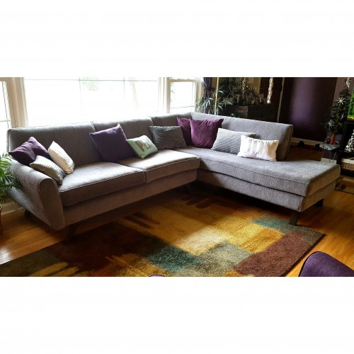 Hyland Sectional with Bumper - Photo by Rob Reneau