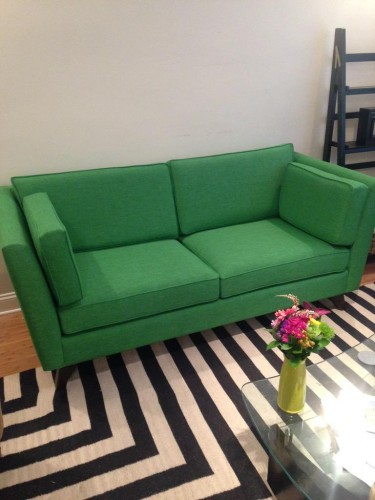 Roller Loveseat - Photo by Jessica G.