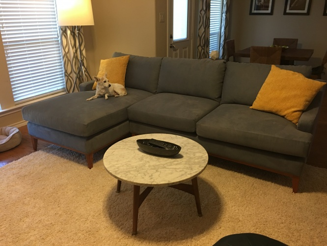 Price Sectional - Photo by Kelli H.