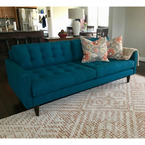 The Look Eliot Sofa Photo By Connie Sorman