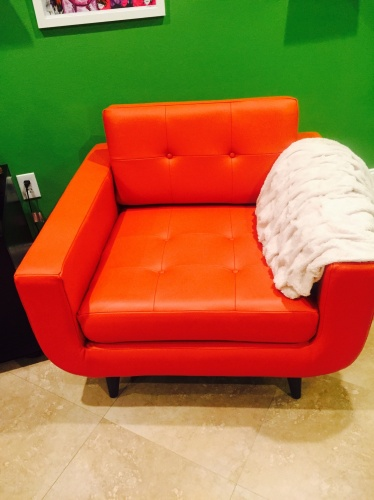 Gervin Leather Chair Joybird