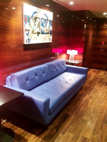 Gervin Leather Sofa - Photo by Cara T.