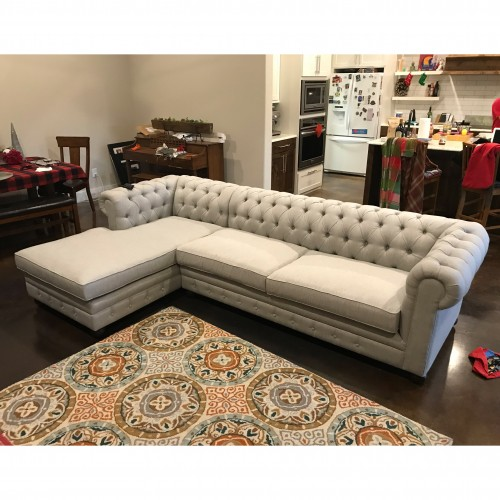Liam Sectional - Photo by Kristi Lehman