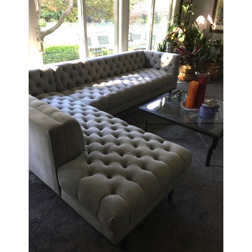 Welles Sectional with Bumper - Photo by Jayne Charles