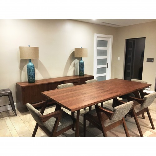 Hesse (Wood Top) Dining Table - Photo by Layne Tharp