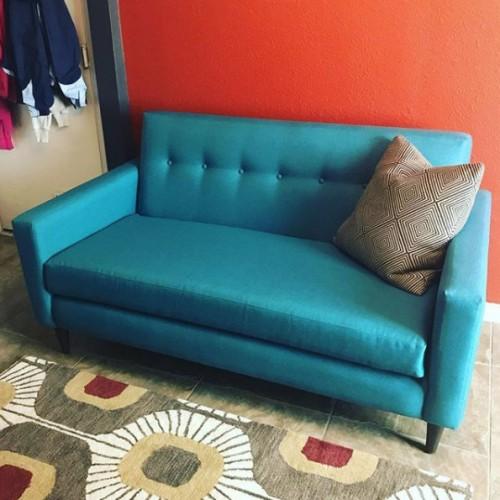Korver Apartment Sofa - Photo by Kelli Cruttenden