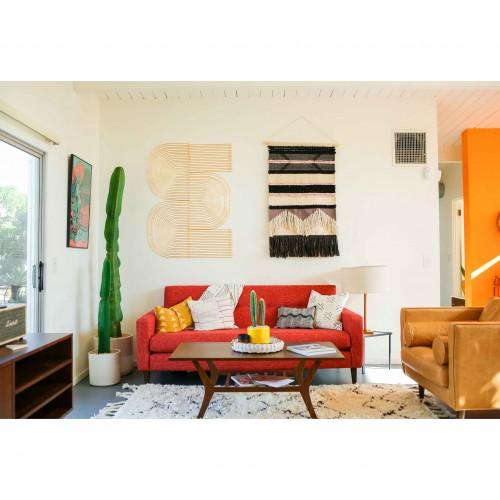 Korver Apartment Sofa - Photo by Dazey Desert House