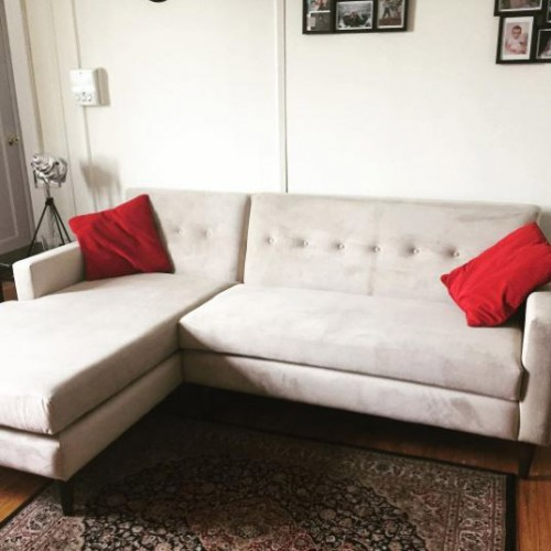 Korver Apartment Sectional - Photo by Courtney Ruttle