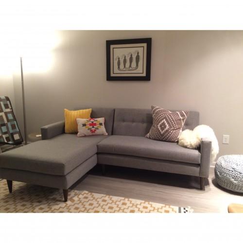 Korver Apartment Sectional - Photo by Julie Goldberg
