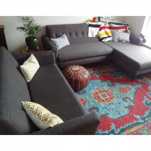 Korver Apartment Sectional - Photo by Valerie  Sadler