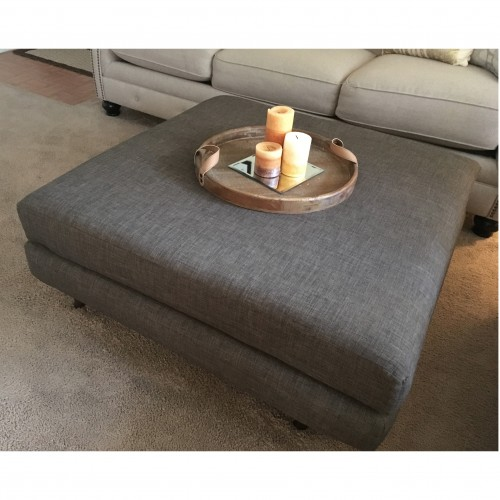 Hughes XL Ottoman - Photo by Victoria Salas