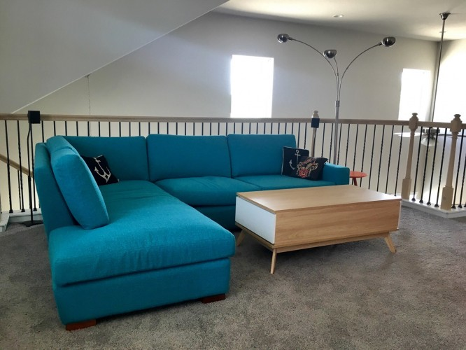 Anton Sectional with Bumper - Photo by Buck Johnson