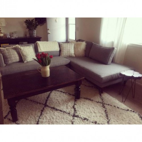Preston Sectional with Bumper (2 piece) - Photo by Melissa Jackson