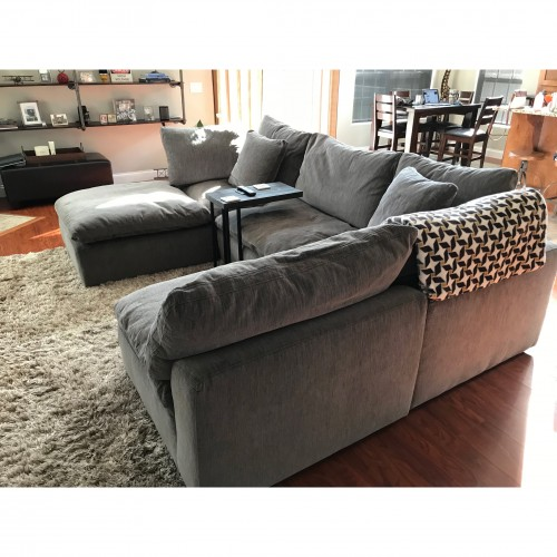 Bryant U-Sofa Bumper Sectional (5 piece) - Photo by Keith Henderson