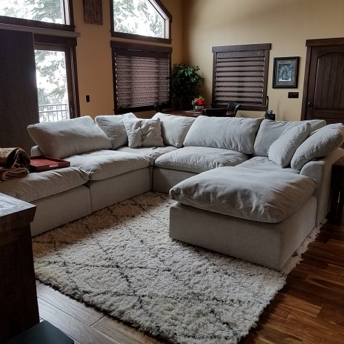 The Look Bryant U Sofa Per Sectional 5 Piece Photo By Raleen White