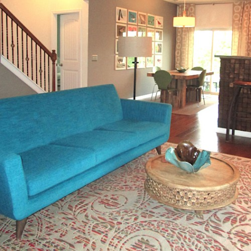 Hughes Grand Sofa - Photo by Denise Bellavance