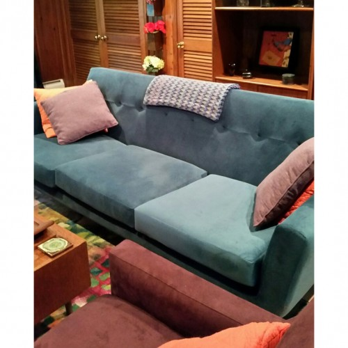 Hughes Grand Sofa - Photo by Barbara Fetty
