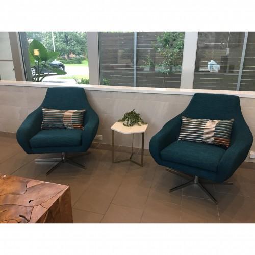 Lenette Swivel Chair - Photo by Jessica Franquiz