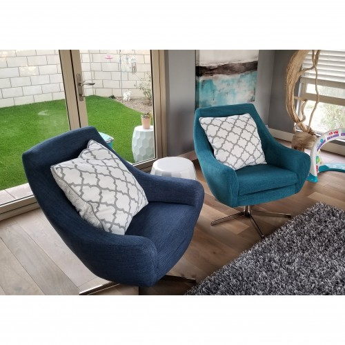 Lenette Swivel Chair - Photo by Jeremy Lenz