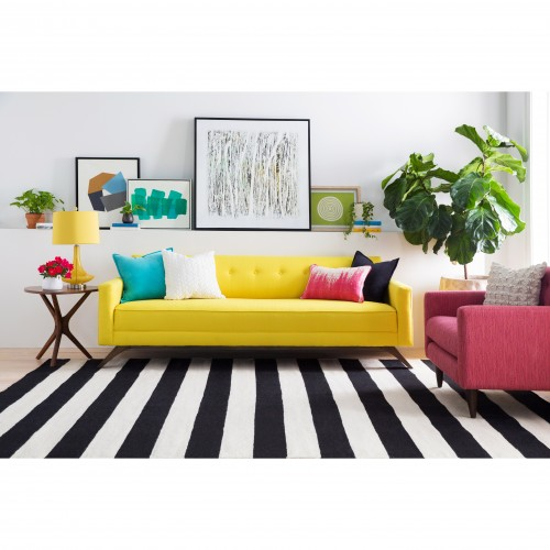 Harper Stripe Rug - Photo by Sam S.