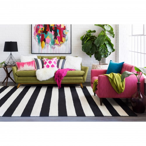Harper Stripe Rug - Photo by Elizabeth M.