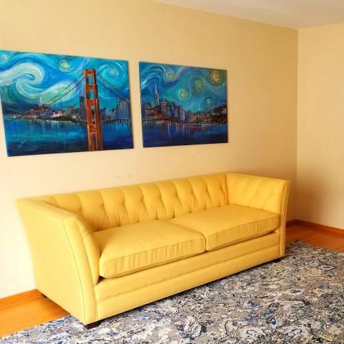 Kensington Sofa - Photo by Kimber Guzik