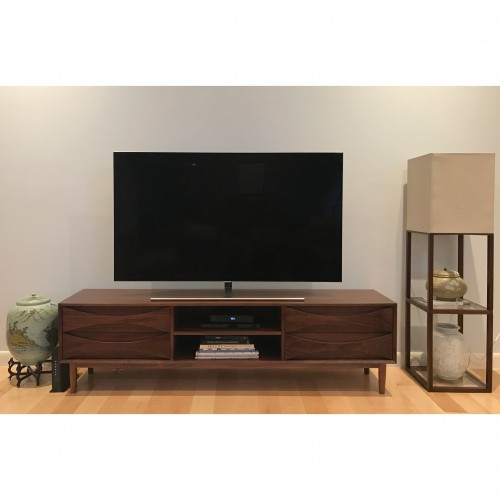 Stella Low Media Console - Photo by Marian Willing