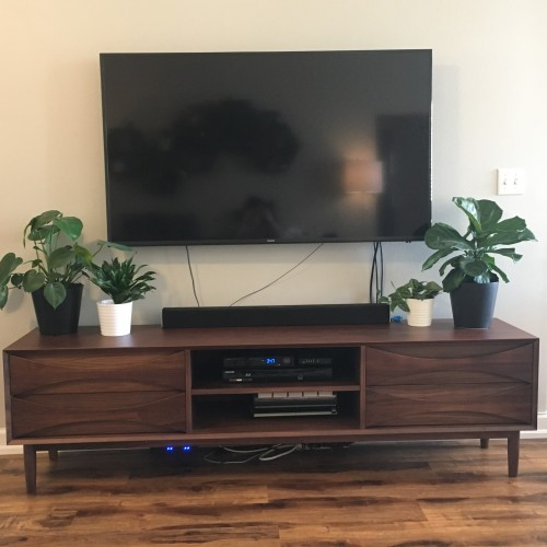 Stella Low Media Console - Photo by Shannon  Siegrist