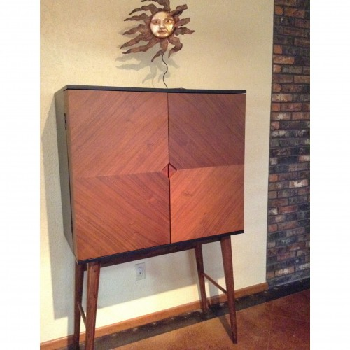 Jackie Bar Cabinet - Photo by Elizabeth Lehman