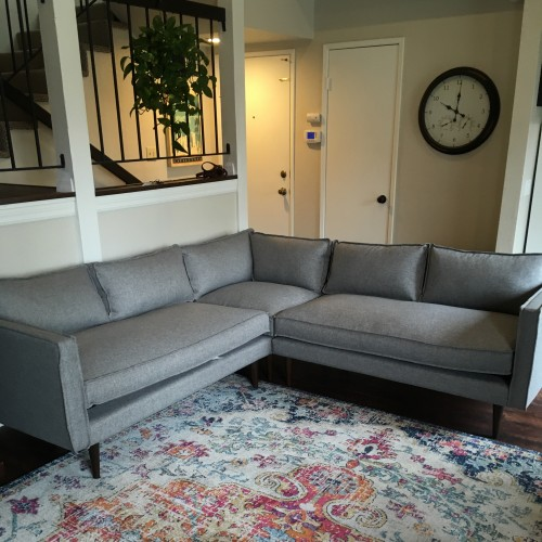 Serena Corner Sectional - Photo by Amy Hoffman