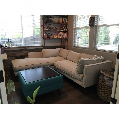 Serena Sectional with Bumper - Photo by Lorena Morris-gonzali