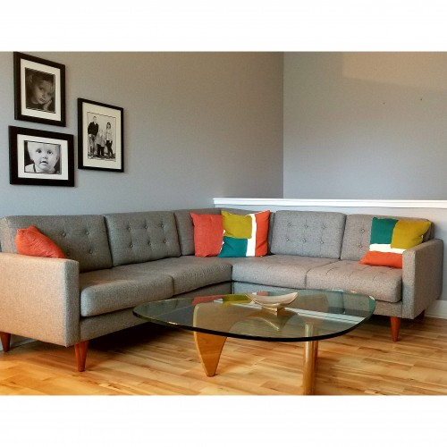 Eliot Apartment Corner Sectional - Photo by Ryan Wolters