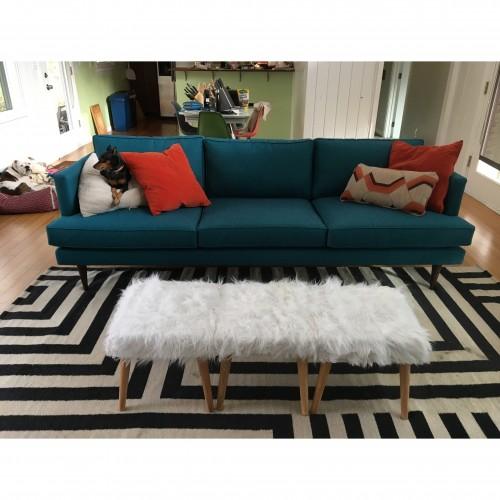 Preston Grand Sofa - Photo by Whitney Yadrich