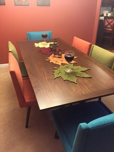 Paz Dining Table - Photo by Becky W.