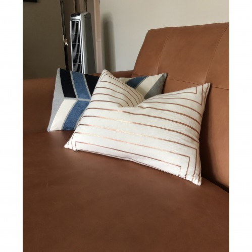 Lena (Cream) Pillow - Photo by Jan-michael Wallace