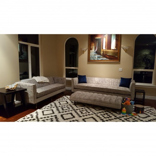 Chelsea Apartment Sofa - Photo by Anna Jaffe Back